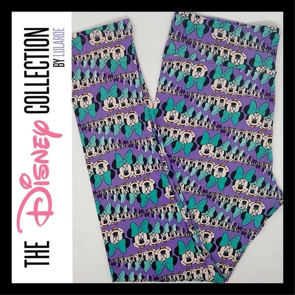 b22985f70c3ecf LuLaRoe Pants | Disney Tc Leggings Tall Curvy 1218 | Poshmark